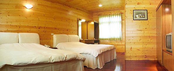 休闲景观渡假村』有各式欧式乡村小木屋