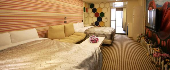 花蓮童話汽車旅館海洋館