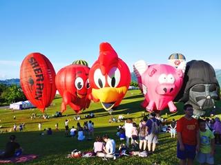鹿野高台.2017熱氣球
