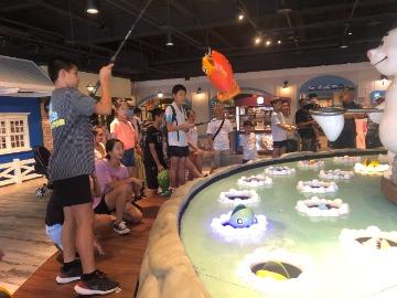 台中觀光工廠 寶熊漁樂碼頭X全台獨家釣魚主題館