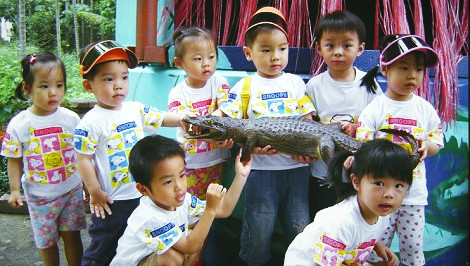 屏東-不一樣鱷魚生態休閒農場一日遊