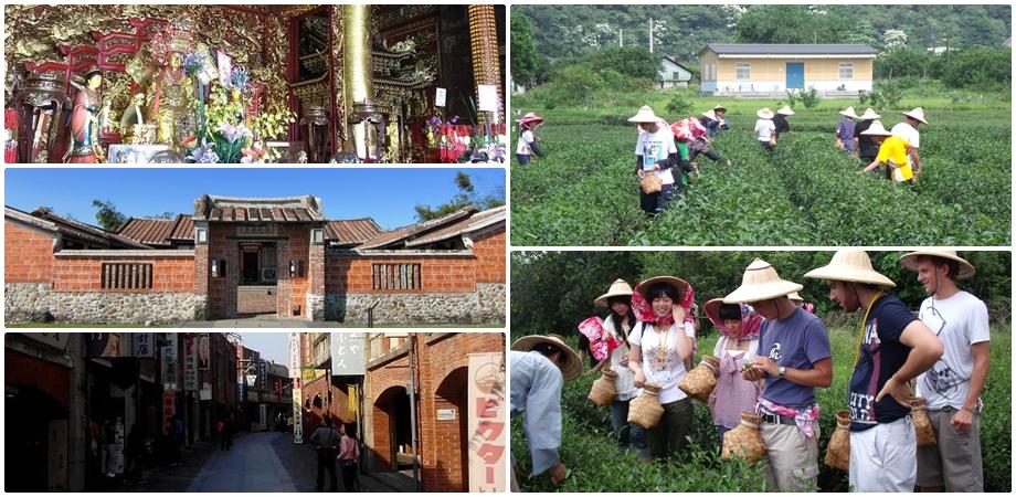 建議行程:利澤老街→國立傳統藝術中心→祥語有機農場《單人採茶體驗活動》