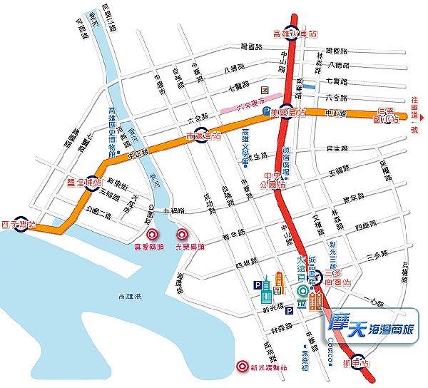 摩天海湾商旅(高雄市)地图