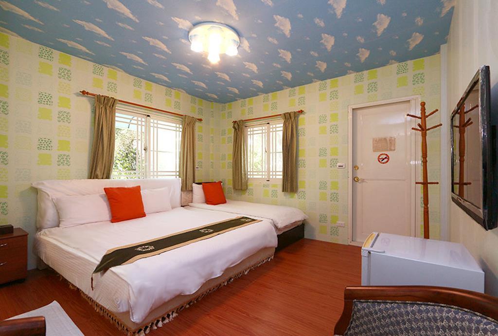 民宿卧室手绘图
