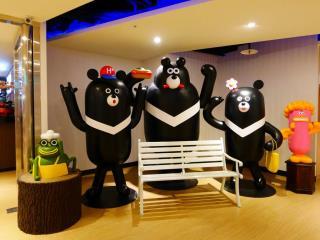 台北橋黑熊好眠站