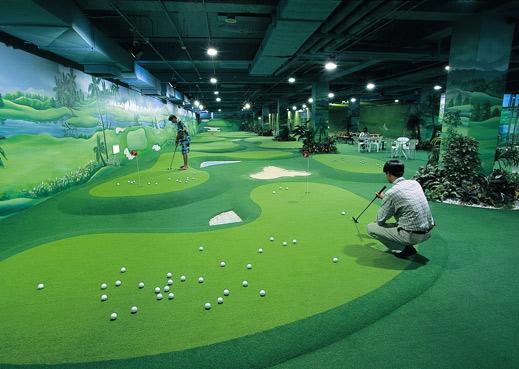 室内高尔夫球练习场