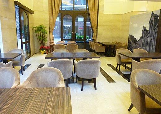 福容大饭店-三莺店; 田园咖啡厅效果图图片分享;