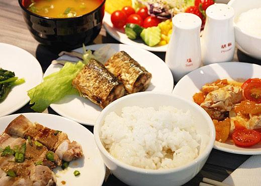 银座饭店-餐厅介绍=中式早餐