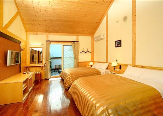 沙里仙温泉渡假村(南投县住宿)-房间房型照片与介绍