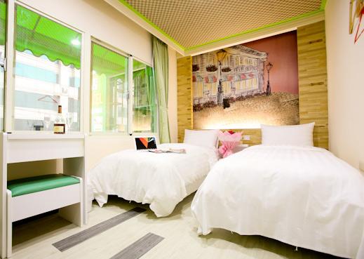 小型旅店装修设计图