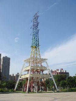 原本是台电公司之高压电塔