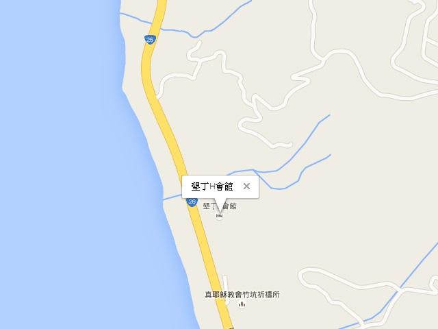 墾丁H會館-交通地圖