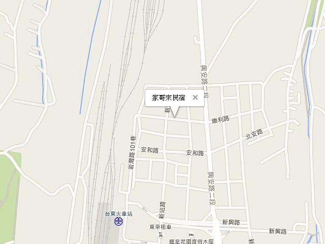 家哥來民宿-交通地圖