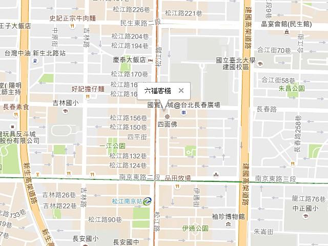 六福客棧-交通地圖