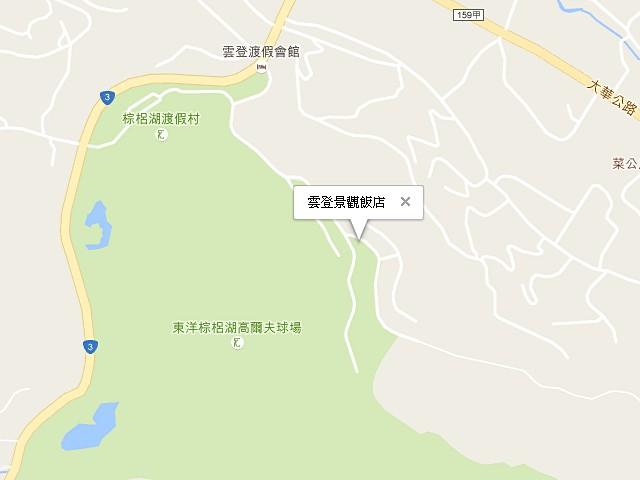 雲登景觀飯店-交通地圖